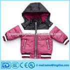 2014 Kids Fashion winter coats Cheap Jacket With Warmer