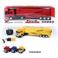 4ch rádio controle recipiente/tractor crianças carregador de bateria brinquedos
