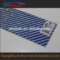 Mới! Chất liệu nhựa PVC bằng không khí kênh 1.52 30 m sợi Carbon Vinyl nhiều màu sắc