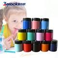 Execellent não- tóxica acrílico base água tinta dedo fotos a cores para pintar em tela 150ml