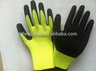 New design black latex gloves women