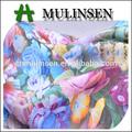 mulinsen têxtil digital impresso macio e de seda tecido pele de pêssego de calções de praia