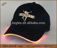 Infrared led hat light custom baseball hat