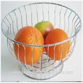 Decorativos de metal cesta colgante planters/de metal plegable cesta de alambre/metal cesta de frutas