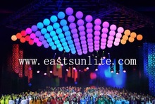 New Innovation Technology Product Elegant RGB LED Lifting Ball, Stage Light for Stage Show/ DISCO /Theater/ Concert