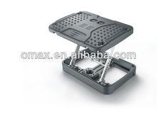 OMAX new Office foot rest adjustable Folding footstool Ottoman