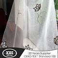 2015 reciente venta caliente de organza bordado de tela