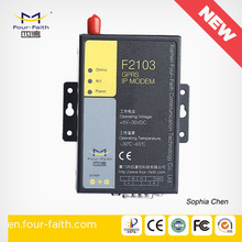 F2103 Gprs DTU remote controller with rs232 RS485 supports Modbus rtu