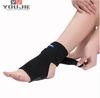 neoprene black elastic tourmaline ankle support ankle brace wrap