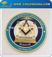 Stock car logo badge,vw car badge emblems,masonic regellia