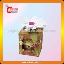Creative floral pattern paper gift box paper box packaging kraft paper box