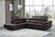 Contemporary design corner leather sofa furniture