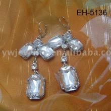 acrylic design newest 2012 fancy earring