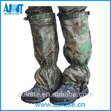 suave y silencioso de la pierna para polainas polainas de caza o accessaries militar polainas pierna