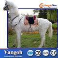 animatronic realista animales caballo de equitación para la exposición