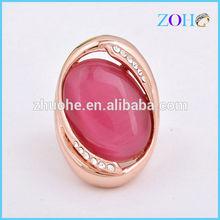 Hot sale European Zinc alloy red stone men's fashion ring