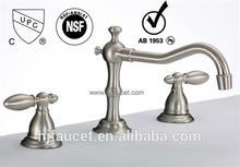 Basin Faucet Mixer Tap Dual handels (83H13-BN)