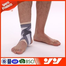 Adjustable elastic neoprene ankle support with factory price