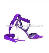 2014 Best latest model sandal high heel for lady