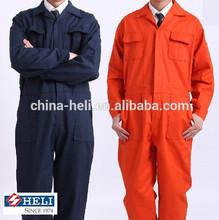 100% Cotton 100% Algodon fabric Denim Twill/Canvas Welding Protective Fire Retardant Overall