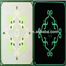 glowing water soluble pigment textile printing binder