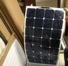 120W 2014 new product High Quality solar panel high efficiency semi flexible solar panel