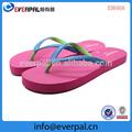 sandalia flip flop deslizador de eva materiales de caucho