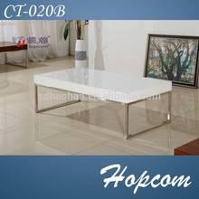 Hopcom Living Room Corner Table MDF Coffee Table
