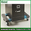 """Multifunctional PP plastic dolly with 3"""" caster and anti-slip rubber mats"""