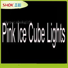 Multi- color flashing led ice cube for christmas decoration