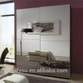 elegante espelho portas de armário