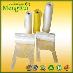 2015 High Quality plastic t-shirt bag on roll