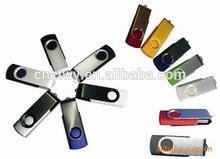 durable swivel design metal & plastic case usb pen sticks 32gb