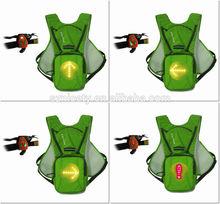 Bikeman Wireless Control Light-up Warning Bicycle Hydration Bag YKBB020403