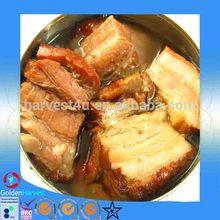 2015 delicious canned steamed pork/boneless pork collar