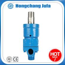 Dual flow high temperature resistance 3000psi rotating swivel mechanism