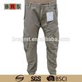 Moda masculina calças compridas com bolsos laterais casual calças homem/oem serviço/china fábricas de vestuário