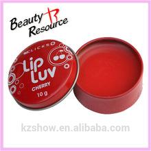EU Standard Round Metal Tin Lip Balm manufacturer, Lip balm container