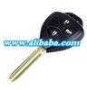 3 buttons Auto remote key, key shell key blank toyota replacement car key