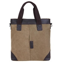 Men fashion handsome canvas handbags ,shoulder bags ,wholesale