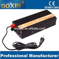 500W inverter with car battery charger 12v 220v