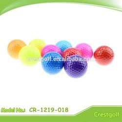 promotion golf ball 80%-90% hardness mini golf ball