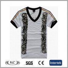italy popular low price print gray short sleeve length