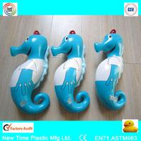 pvc inflatable seahorse/ sea animal