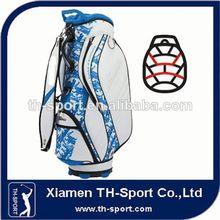 2014 Fashion design customized staff cart bag golf