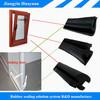 EPDM rubber sealing strip for sliding door weather stripping