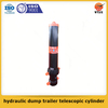 Factory supply quality assured hydraulic dump trailer telescopic cylinder for sale