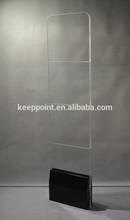 New Design EAS Acrylic Clothing Anti-theft System 8.2mhz RF Mono