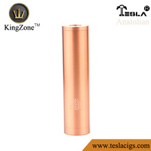 Hot selling primary battery 18650/gus mod/tesla Anatolian e-cigarette mod with high quality