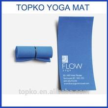 Cheap printed EVA min folding yoga business card mat